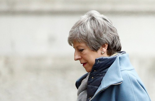 UK PM May to offer indicative votes on Brexit options - Telegraph reporter