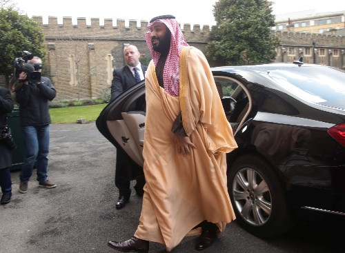 Saudi crown prince says will develop nuclear bomb if Iran does: CBS TV