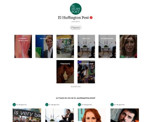 PRISA Noticias en Flipboard: Cinco Días, Huffington Post, As y Meristation