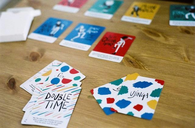 A Card Game Designed To Get Kids Off Their Butts