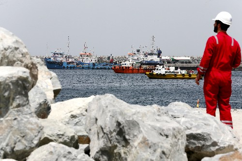 War risk costs drag on UAE marine fuel sales, benefit Singapore: trade sources
