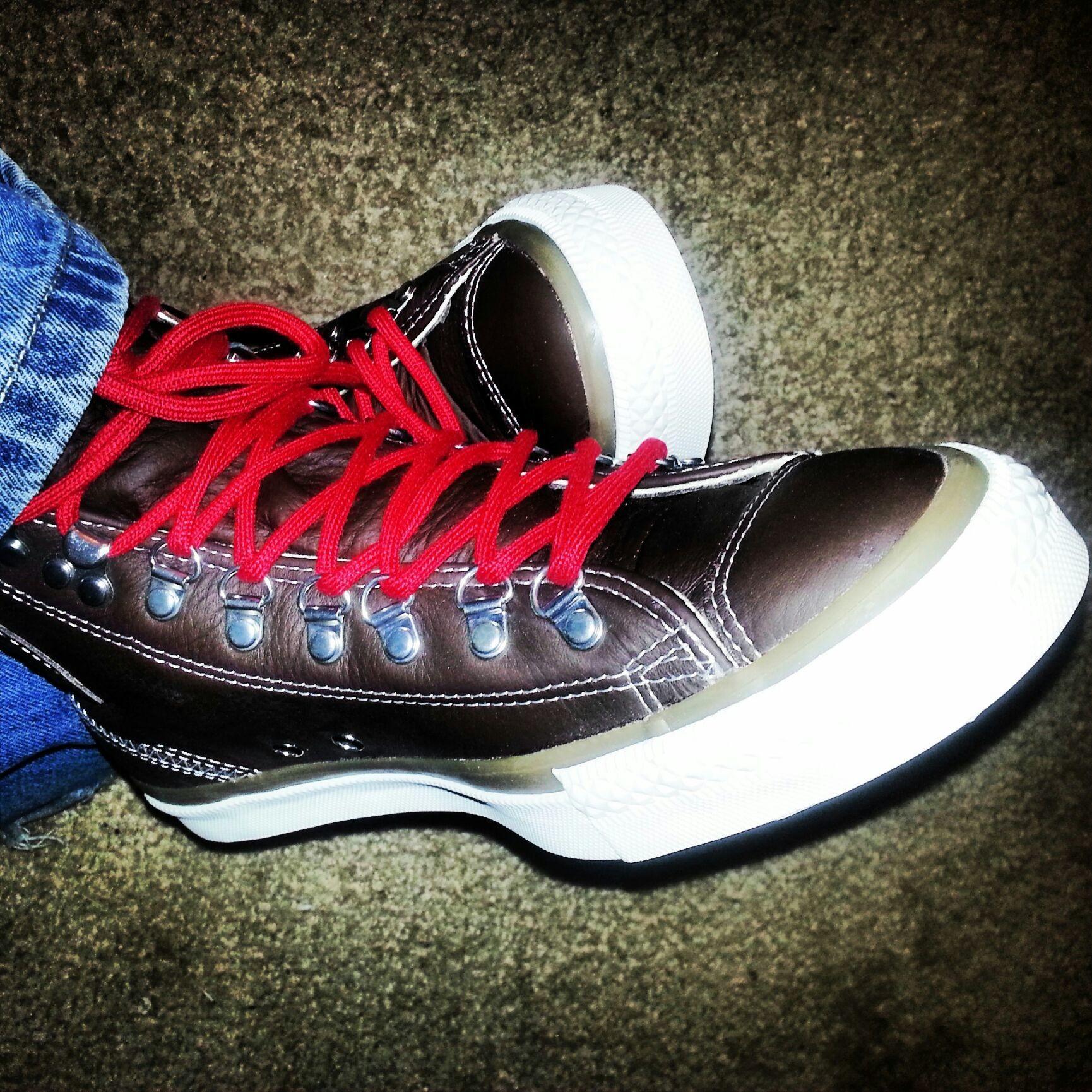 My favorite Chocolate Chucks. Get yo Converse on! #chuckhack #allstar