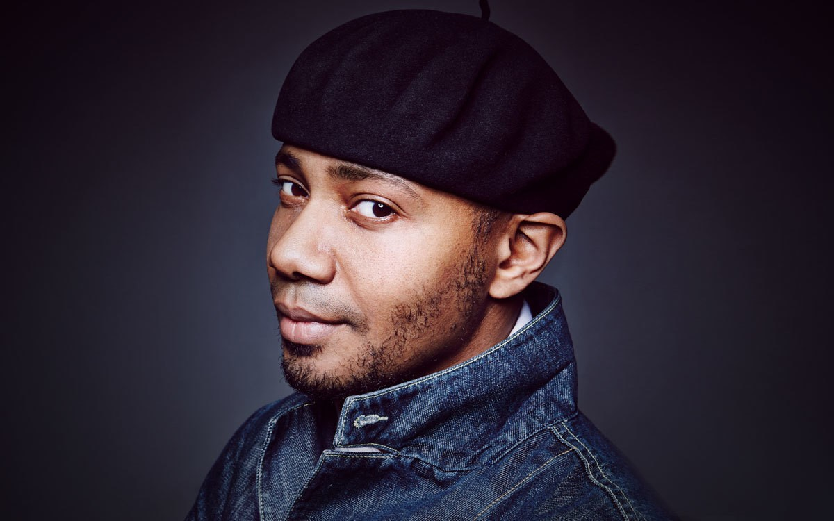 On the Red Couch With DJ Spooky
