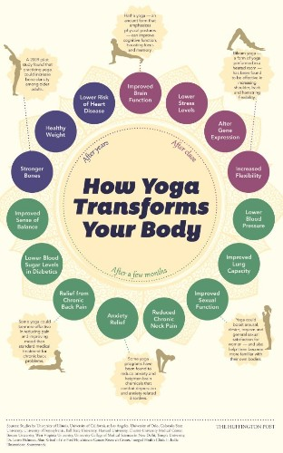 How Yoga Changes Your Body, Starting The Day You Begin (INFOGRAPHIC) | HuffPost Life