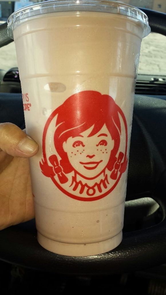 Now this is what I call a real Frosty....lol supersize.