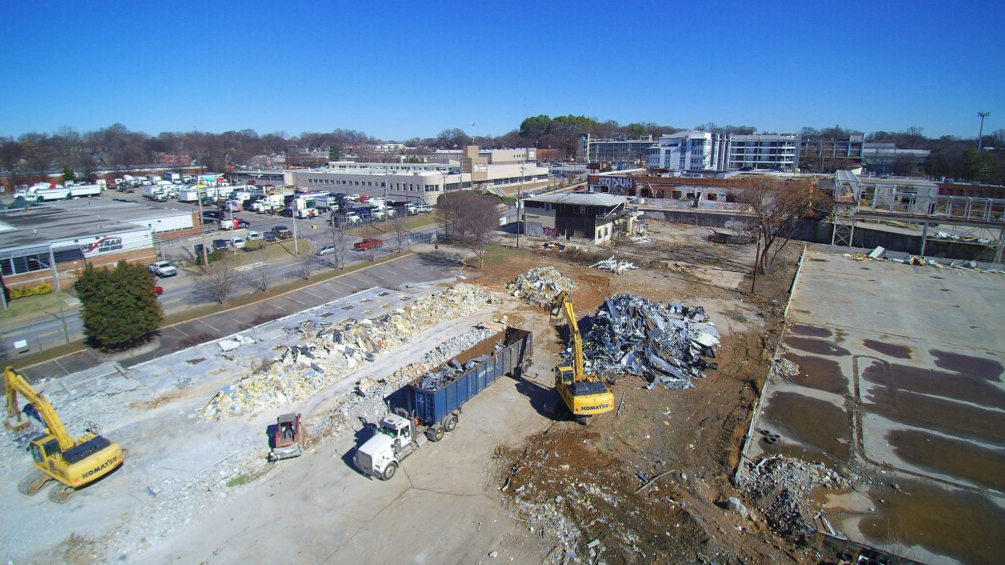 Atlanta Dairies project on Memorial Drive is officially underway