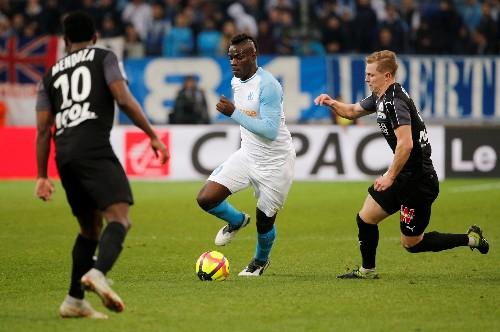 Soccer: Balotelli strikes again as Marseille go fourth
