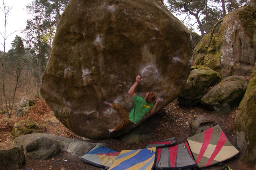 Bouldering - cover