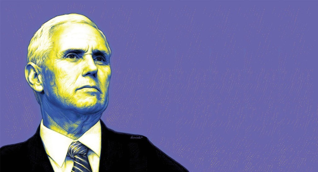 Man on a Wire: Mike Pence's Tightrope Act