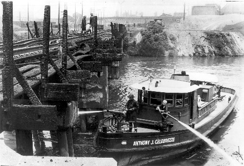 'Burning river' loses sting in Cleveland 50 years after fire