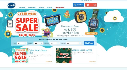 Toymaker VTech Leaks Millions Of Parent Emails And Child Photos In Latest Massive Breach