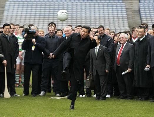 感觉中国的足球有