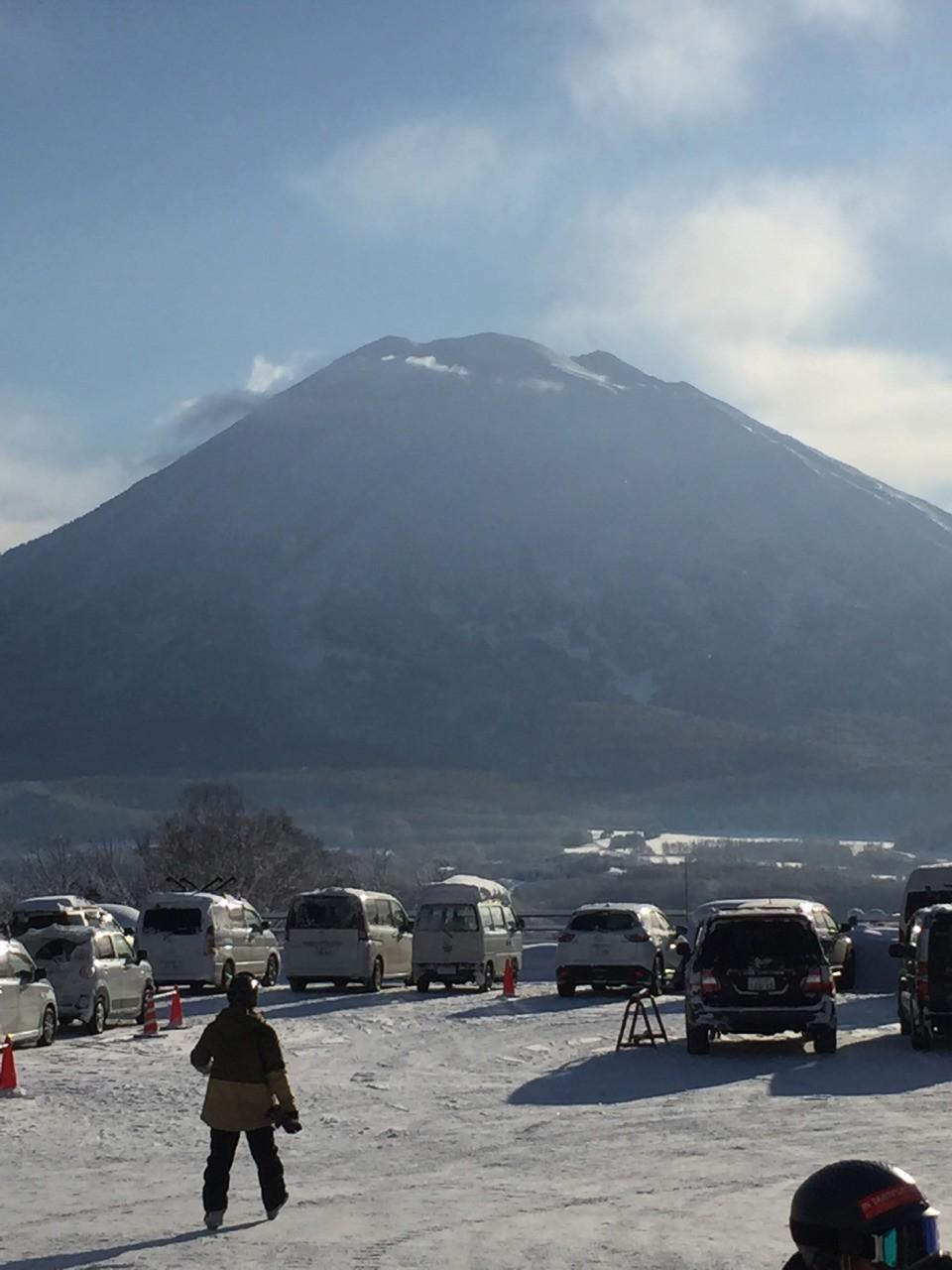 @lyndski skinned up this Volcano Niseko,Japan