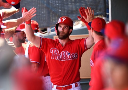 Spring training roundup: Harper hits first two Phillies HRs