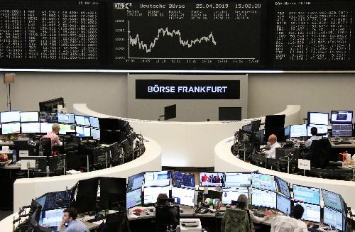 Les résultats et les craintes sur l'économie pèsent sur l'Europe