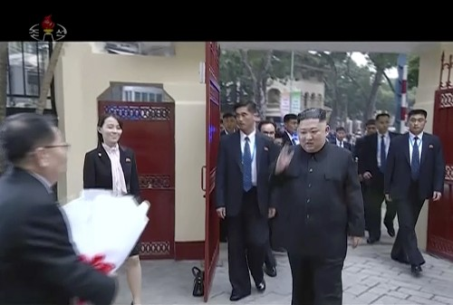 N. Korea airs documentary glorifying Kim's summit with Trump