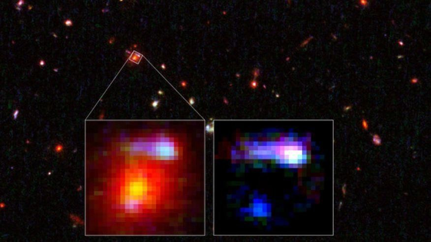 Record-breaking cosmic 'magnifying glass' found by Hubble telescope