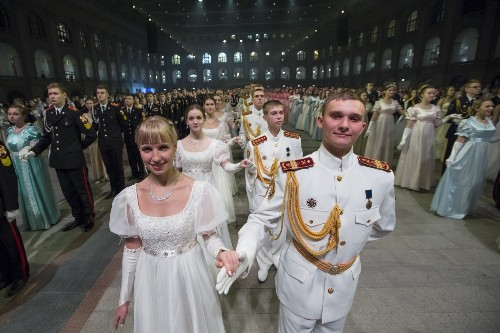 The Annual Military Students Ball in Moscow: Pictures