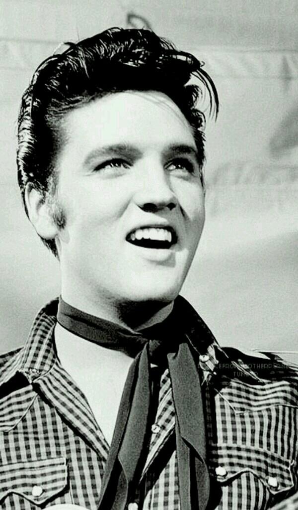 Elvis Presley - Magazine cover