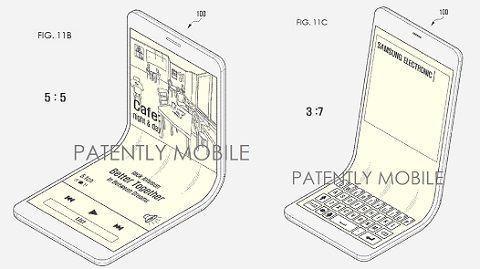 삼성, 지갑처럼 접히는 스마트폰 특허