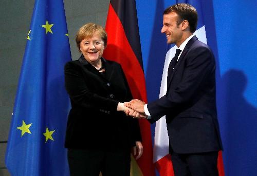 Germany, France must break taboos to advance on European reforms: Macron