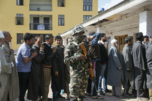 India enters 2nd phase of elections with Kashmir in lockdown