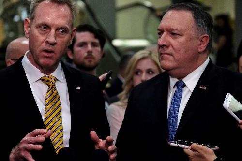 U.S. officials seek to tamp down Trump rhetoric on Iran