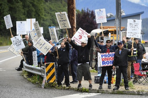 Strike by Alaska ferry workers snarls travel plans