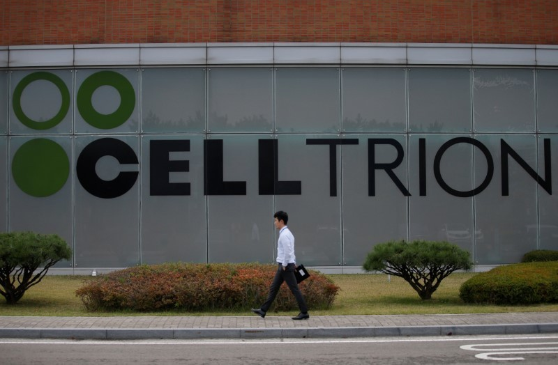 South Korea's Celltrion says COVID-19 drug shows drop in viral load in animal testing