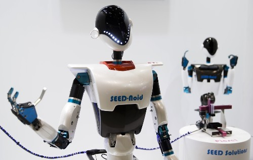 The Latest in Robots from Japan: Pictures
