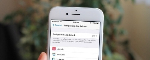 How to Set Background App Refresh to WiFi Only with iOS 11 on iPhone