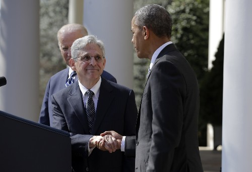 Obama Nominates Merrick Garland for Supreme Court: Pictures