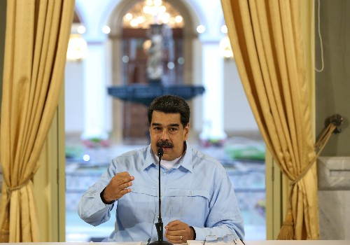 Venezuela's Maduro says authorities foiled opposition coup plot