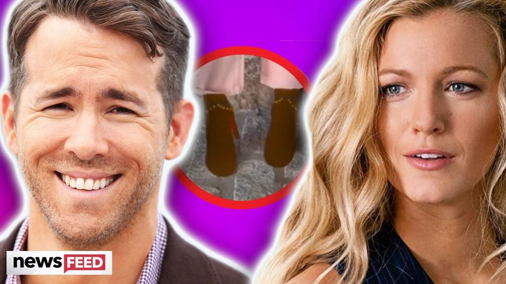 Ryan Reynolds TROLLS Blake Lively For Wardrobe Malfunction