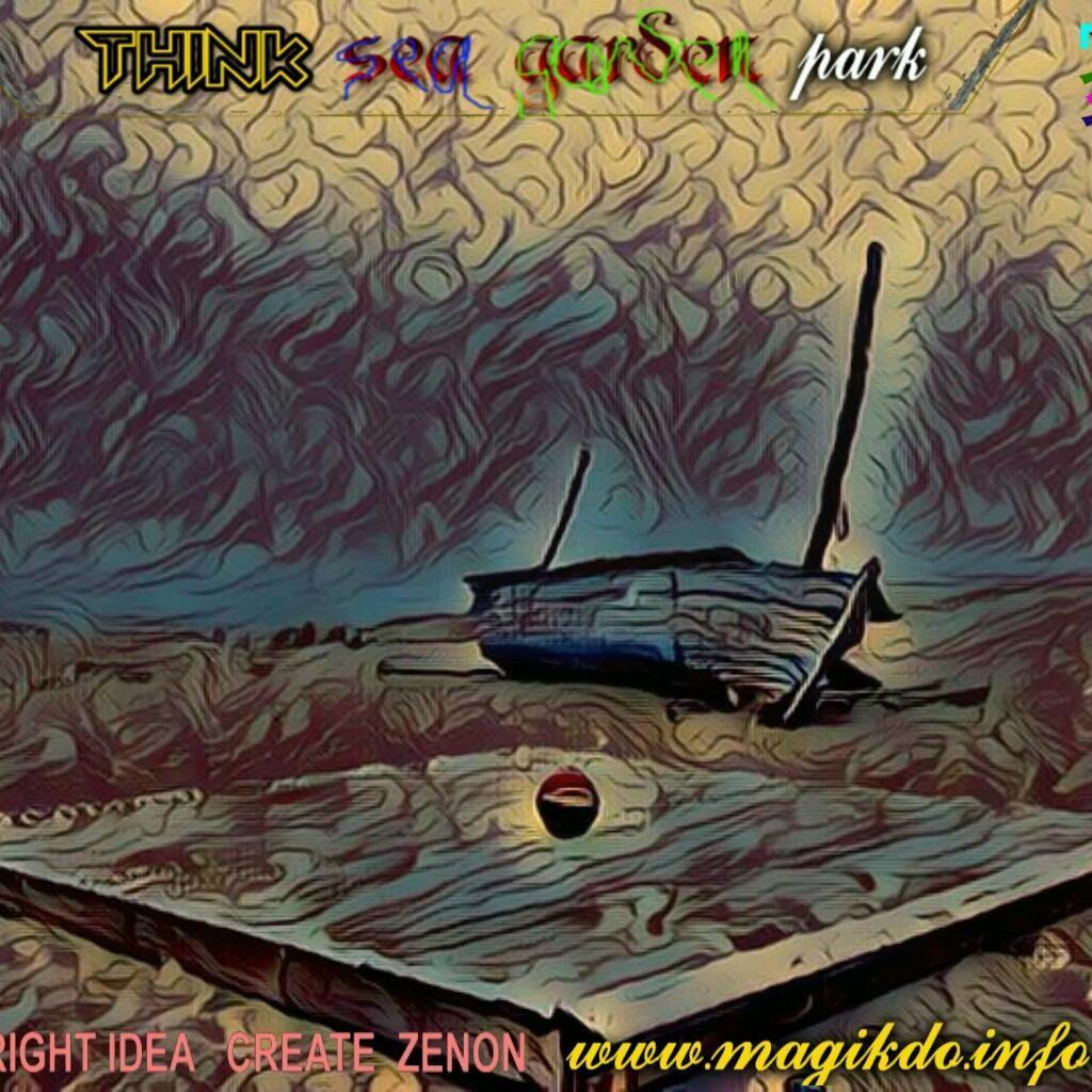think Sea Garden park - cover