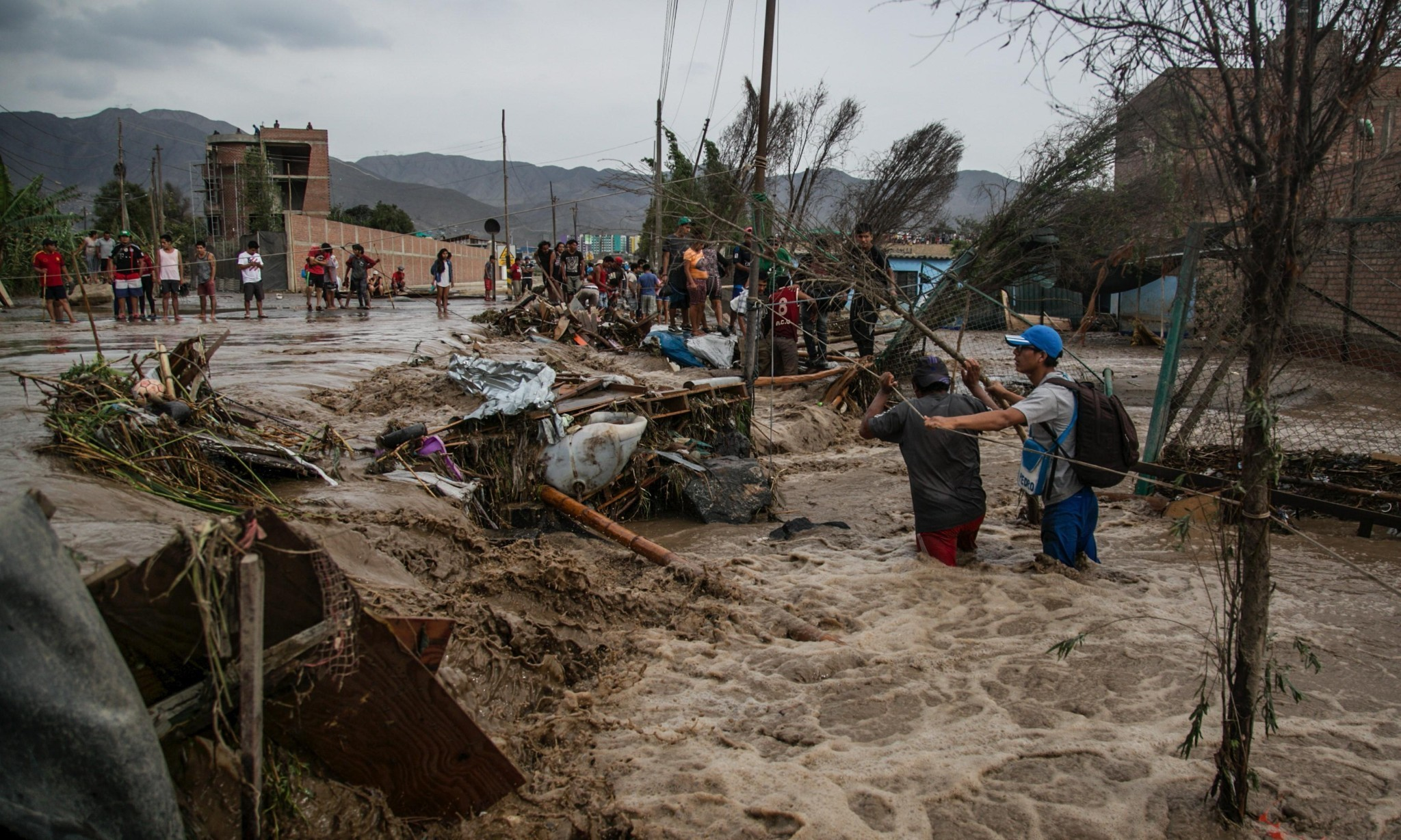 Lima's time bomb: how mudslides threaten the world's great 'self-built' city