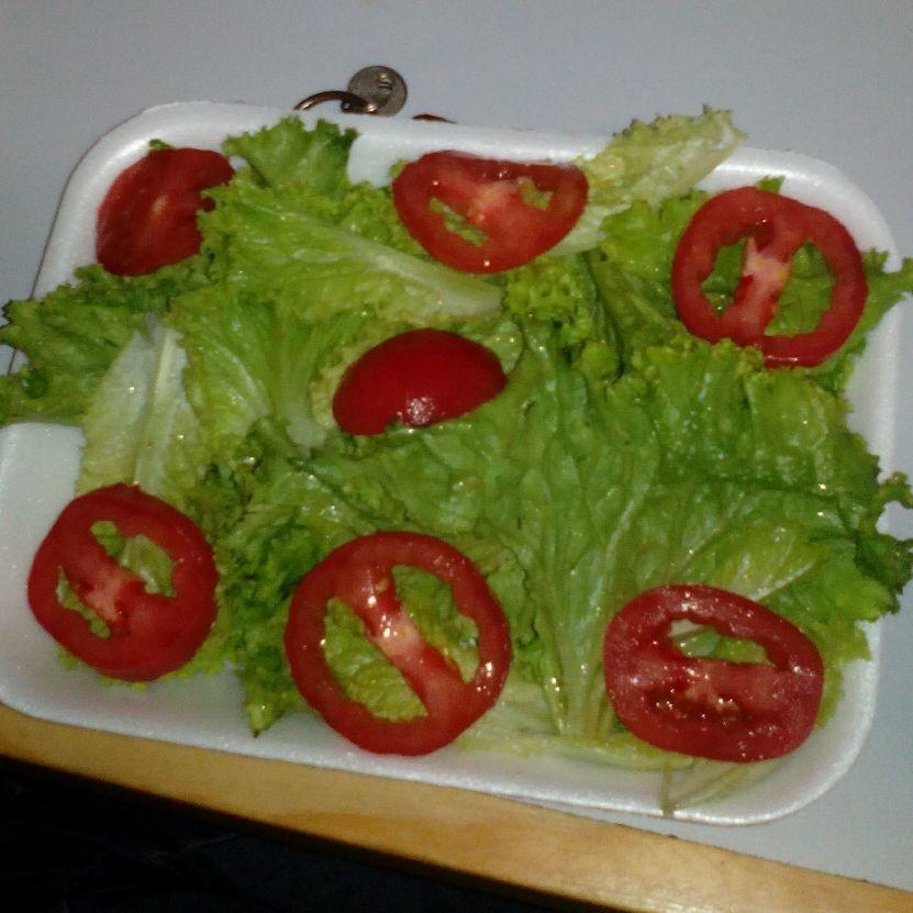 en salada verde rica y muy saludable