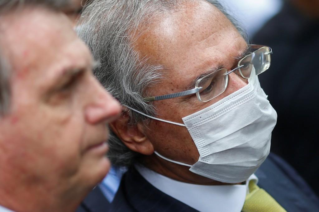 Guedes testa negativo para Covid-19, diz Ministério da Economia