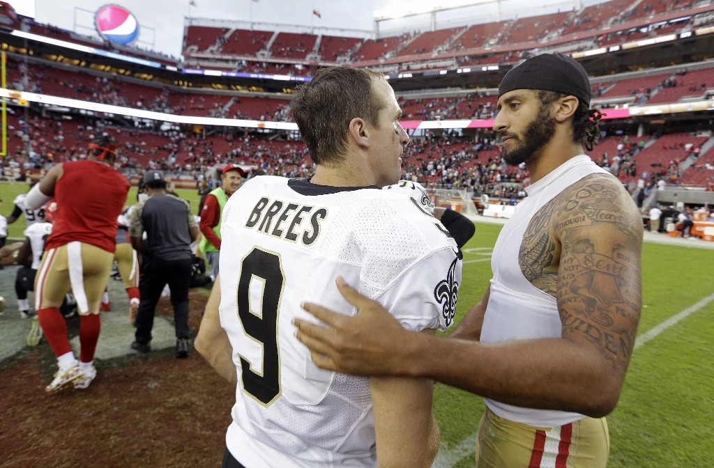 Brees says he 'completely missed the mark' in flag comments