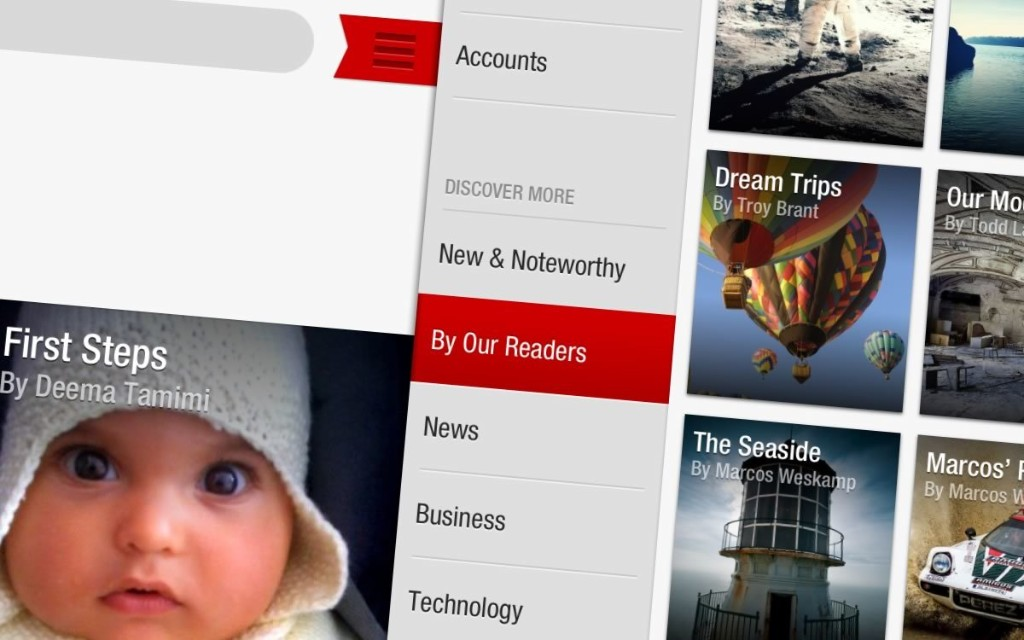 About Flipboard - Magazine cover