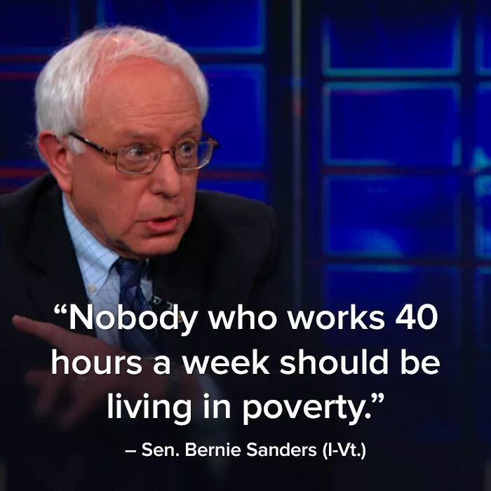 """#Sanders - wasn't this once called a """"Social Compact"""" (and why do they need so much?) #FeelTheBern #2016"""