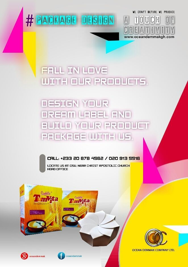 #Package design poster