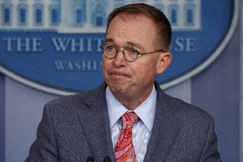 Mulvaney getting second-guessed over his defense of Trump