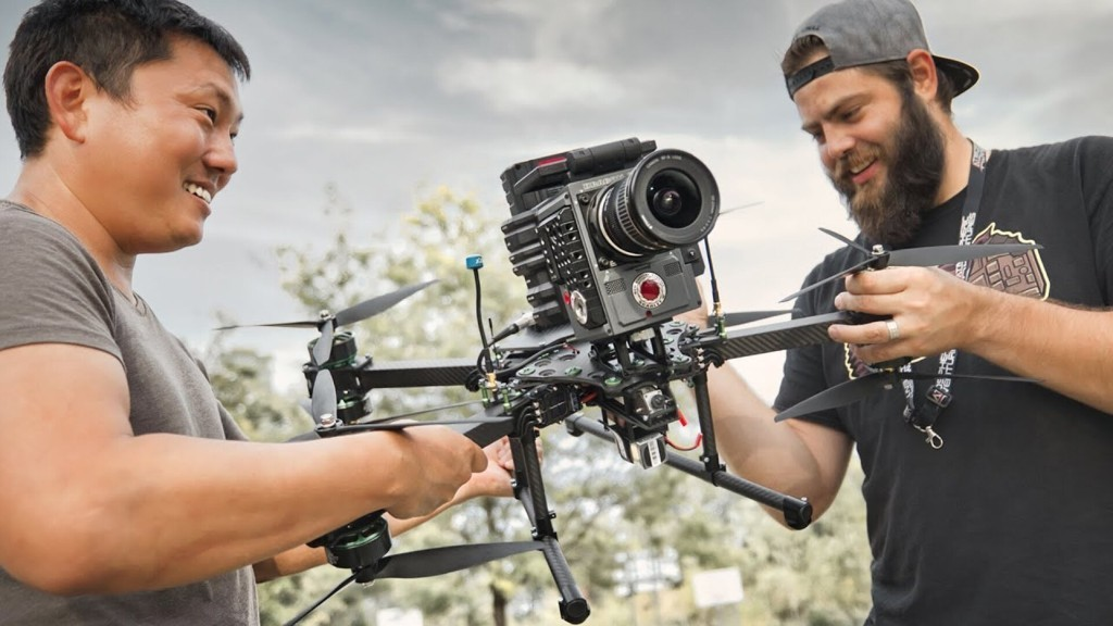 Putting A $25,000 Red Camera On A Race Drone