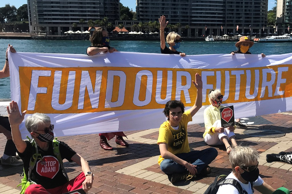 Frustrated Australian climate activist juggles school and a lawsuit