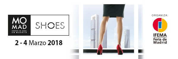 Momad Shoes. Del 2 al 4 de marzo. Ifema. Madrid