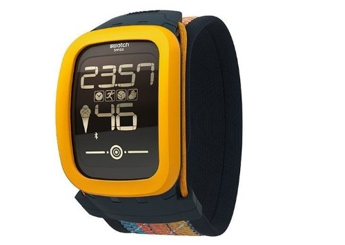 Swatch announces new touchscreen watch with fitness features