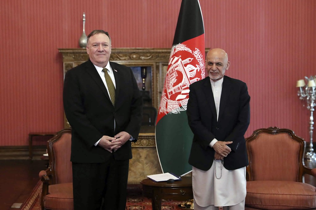 Pompeo in Kabul in effort to revive flagging peace process