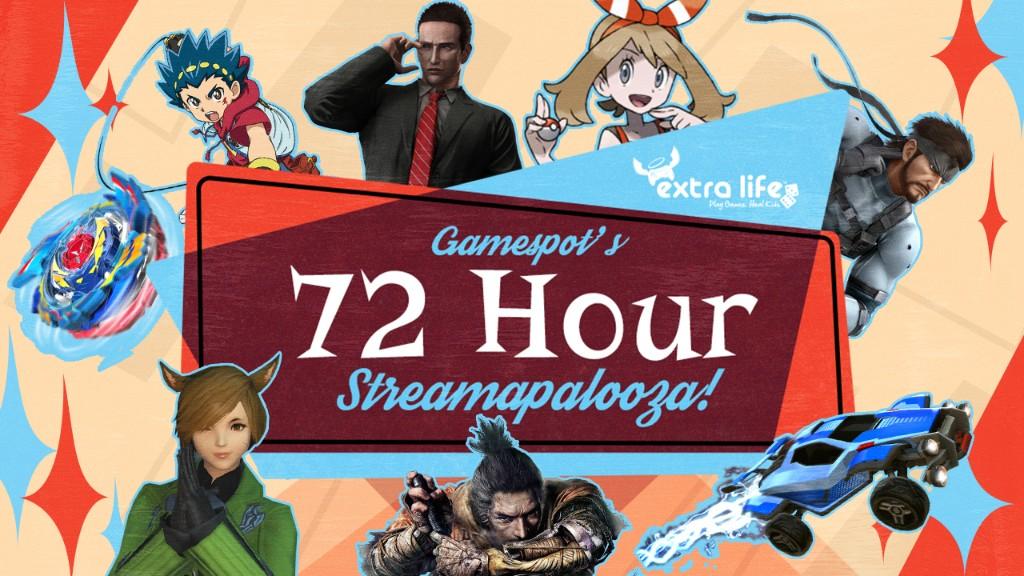 GameSpot's Extra Life Streamapalooza