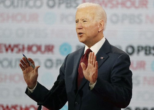 Biden: No regrets for talking openly about stuttering